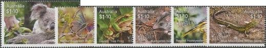 AUS 04/08/2020 Stamp Collecting Month 2020: Wildlife Recovery set of 6
